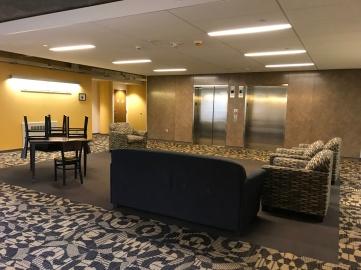 7th floor lounge.