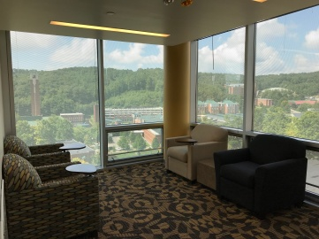 7th floor study corner.
