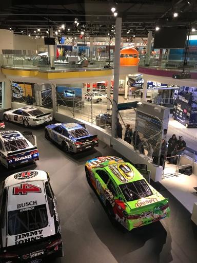 NASCAR Hall of Fame (9)