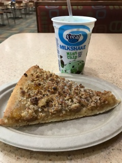 Apple Crumble Pizza & F'real