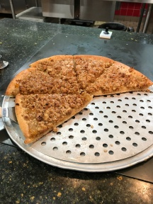 Apple Crumble Pizza